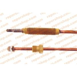 TERMOPAR CALDERA STANDARD CONEXION CABEZA ROSCADA 1200mm R/8