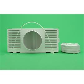 Tubo evacuación vapor secadora con deposito universal-cualquier marca 100x1000mm
