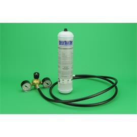 ENVASE NITROGENO 950cc BOMBONA DESECHABLE + MANOREDUCTOR REGULADOR PRESION