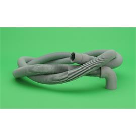 Tubo de desagüe de Agua Universal Fría Standard Lavadora,Lavavajillas con codo
