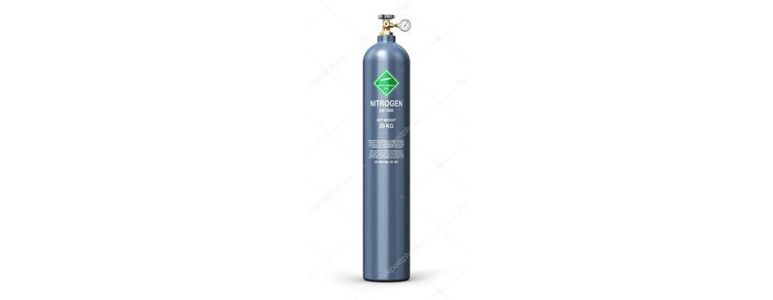 Oxigeno, nitrógeno y gas