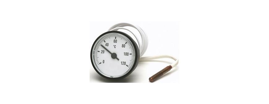 Termometro con bulbo caldera